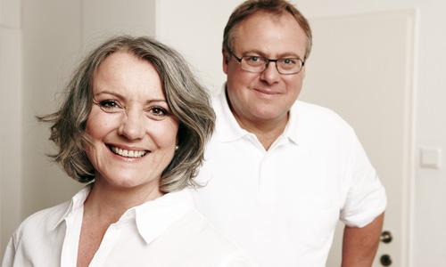 Frauenärztin Dr. Eva-Maria Liebhart und Frauenarzt Dr. Michael Stany